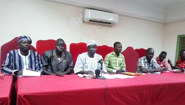 Syndicat GSP: Non aux actions déstabilisatrices du ministre Bagoro !