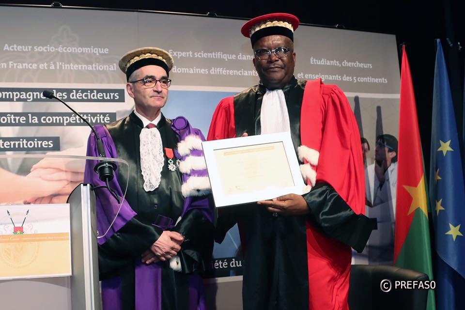 Université de Bourgogne : Roch Kaboré fait Docteur honoris causa