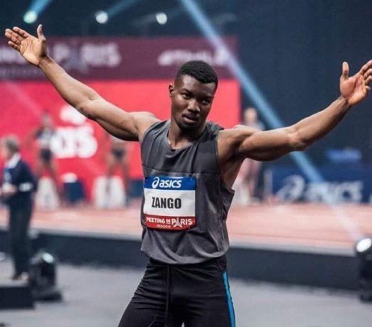 Meeting de Paris: le Burkinabè Fabrice Zango bat le record d'Afrique du triple saut (17,58 m)