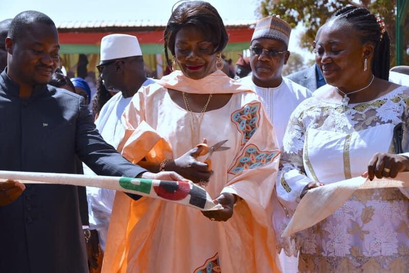 Bobo-Dioulasso: Sika Kaboré inaugure l'huilerie Céleste