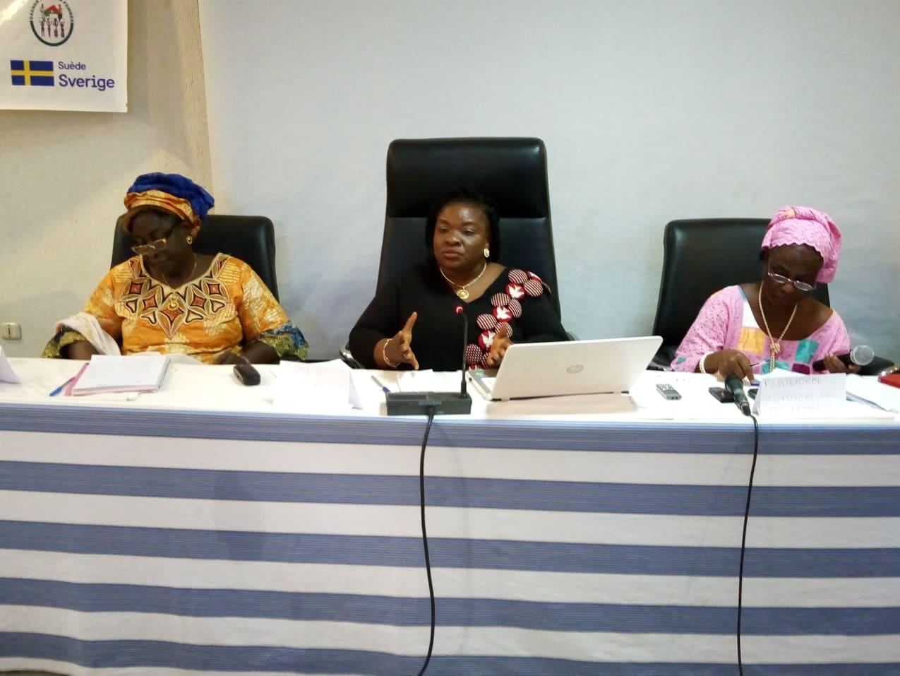 Processus d'adoption de l'avant-projet de loi sur le quota: Les organisations féminines renforcent la lutte