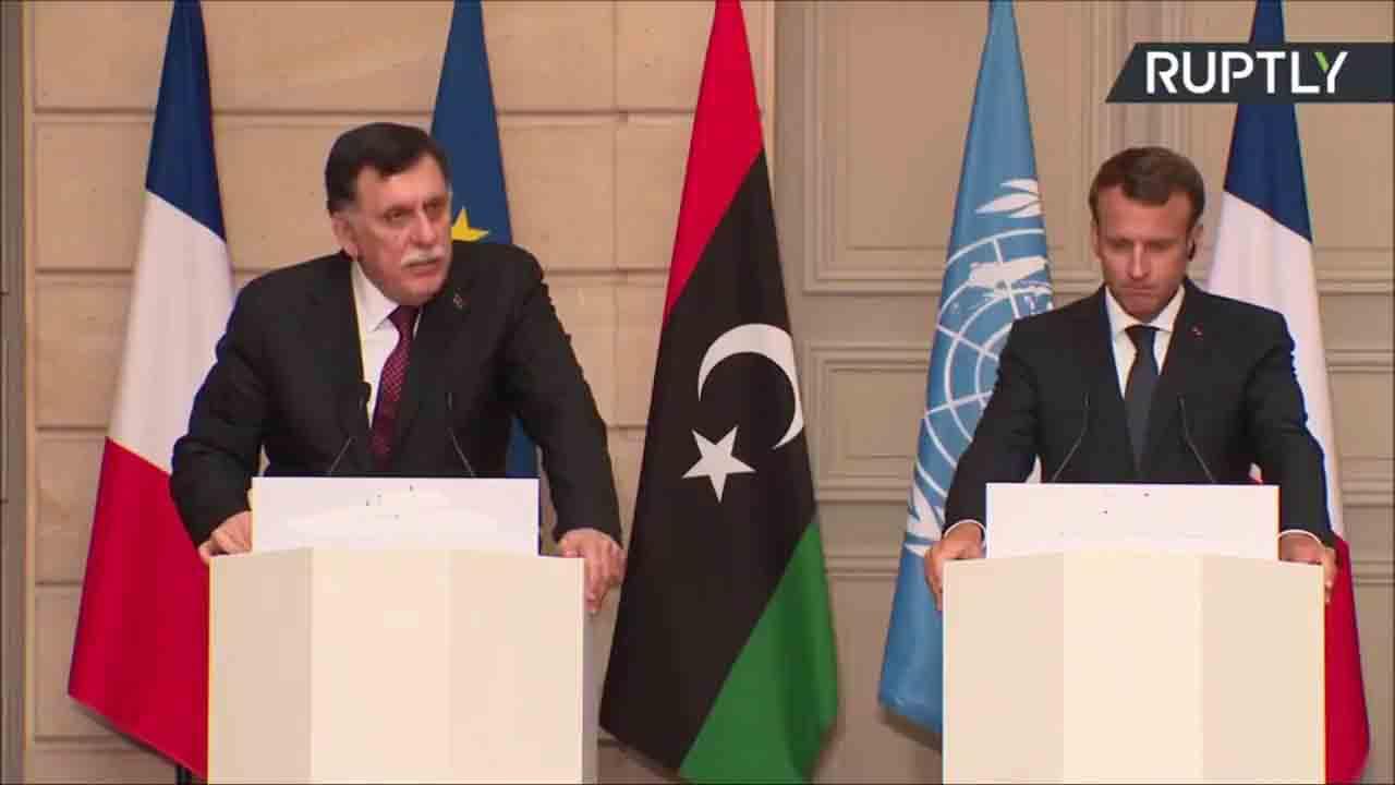 Fayez Al-Sarraj à Paris: Ah la diplomatie!