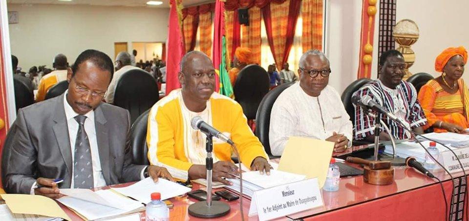 Deuxième session ordinaire du conseil municipal de Ouagadougou: Examen et adoption des comptes