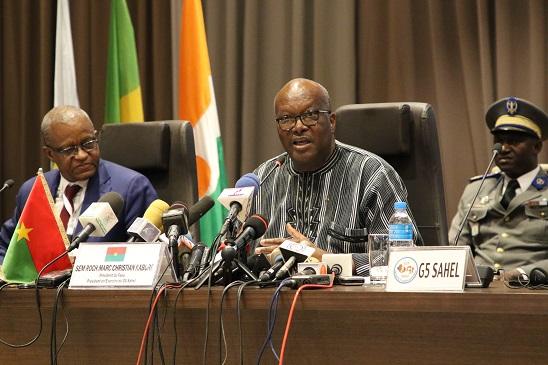 Présidence en exercice du G5 Sahel:Roch Marc Christian Kaboré passe la main après une année d'engagement soutenu