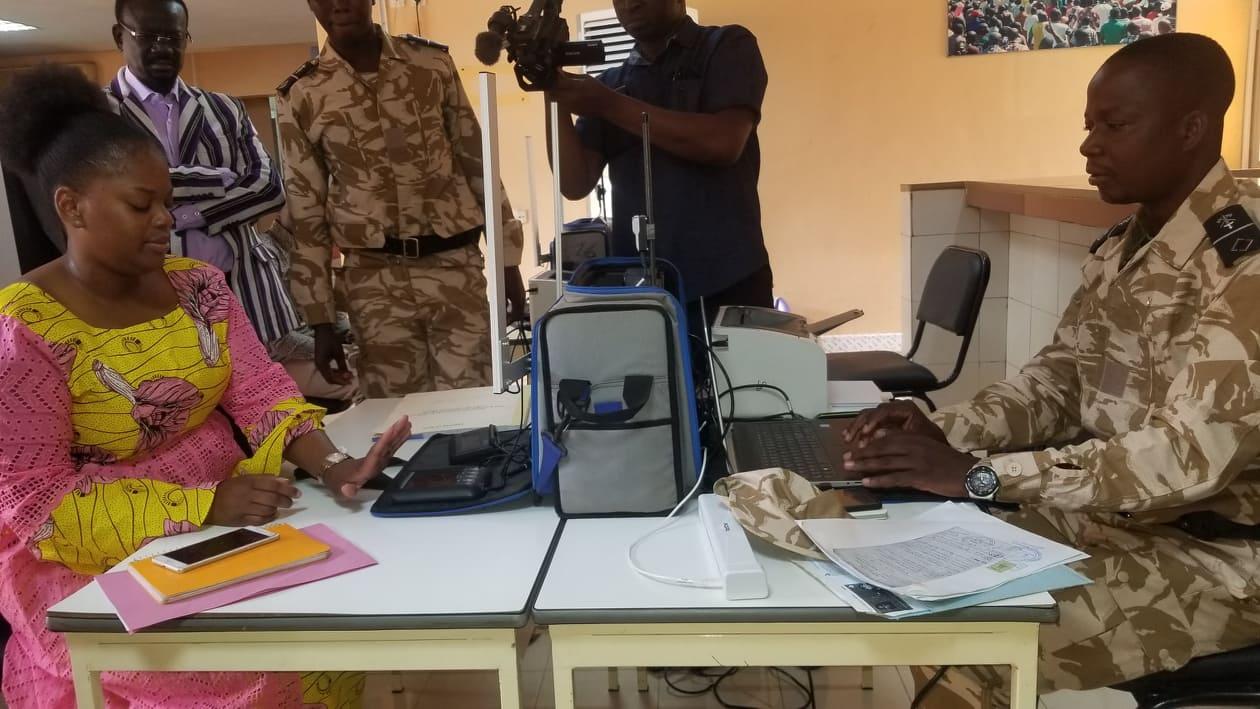 Assemblée nationale: L'ONI délivre des passeports et CNIB au personnel