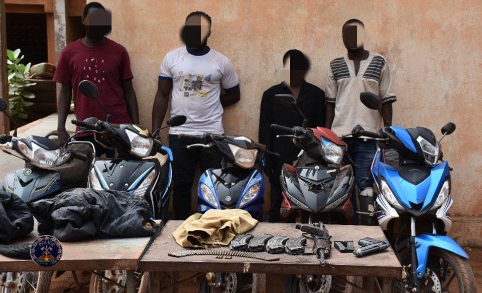 Insécurité dans la ville de Ouagadougou: 4 délinquants dont 2 ex-corps habillés dans les filets du SRPJ-C