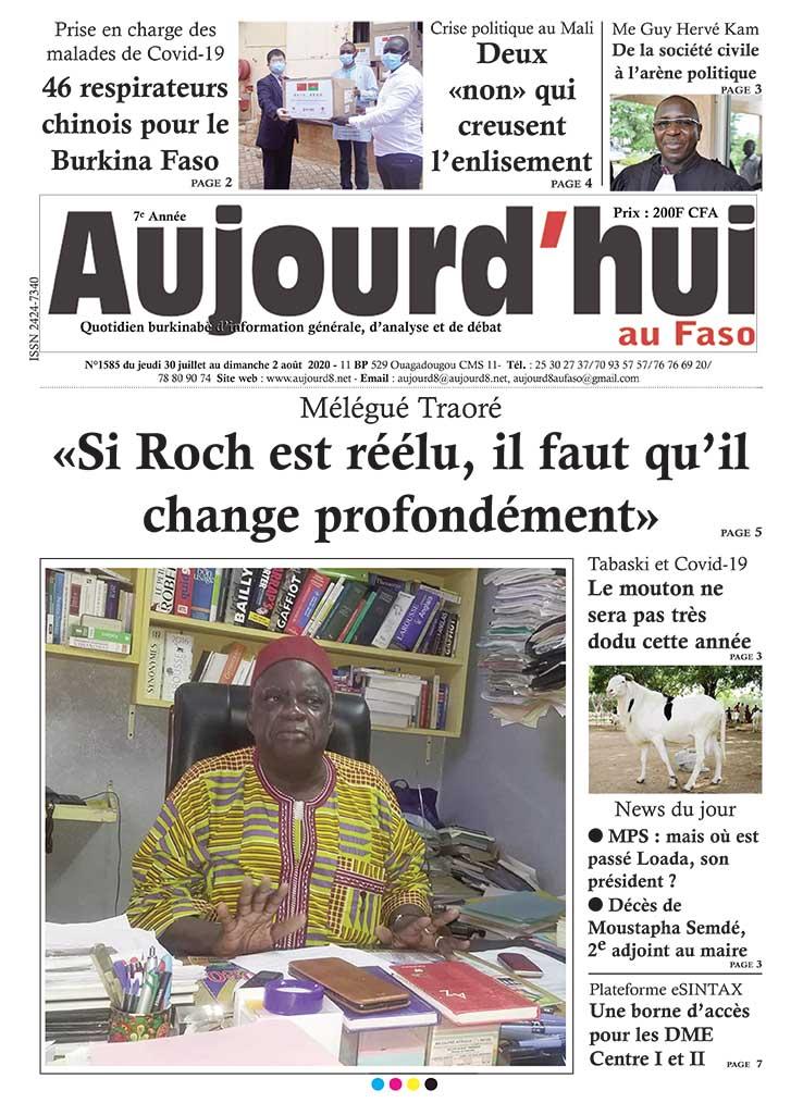 Prise en charge des malades de Covid-19 :  46 respirateurs chinois pour  le Burkina Faso