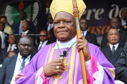 Sermon du cardinal Fridolin Ambongo en RDC: L'Eglise ne croit plus à l'utilité du tandem CACH-FCC
