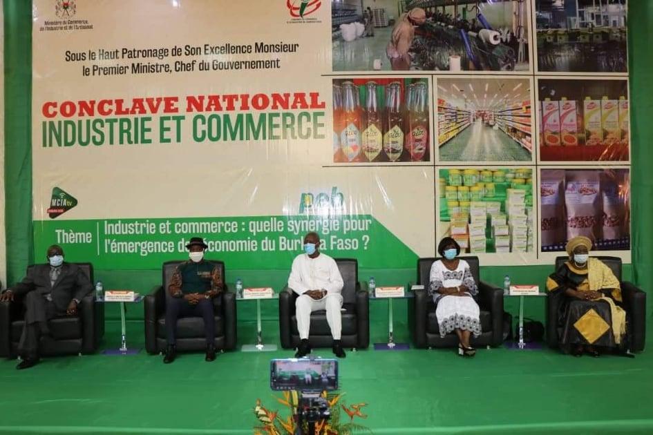 Promotion des industries et commerce: Les acteurs en conclave à Ouaga
