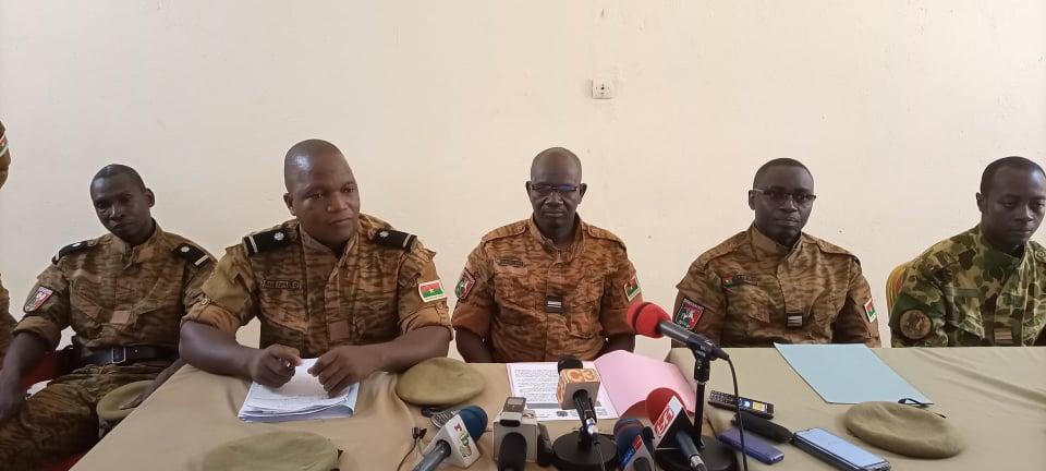 Adjudant-chef major Djibrilou Zina, commandant de la brigade de gendarmerie de Fada: «Un seul de ces explosifs pulvérise un car de 70 places»