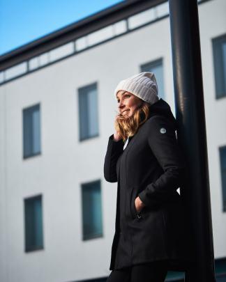 Nål Bergen functional wool coat