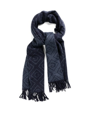 Gant Diamond wool scarf