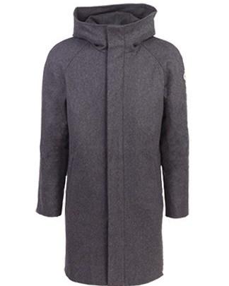 Nål functional wool coat