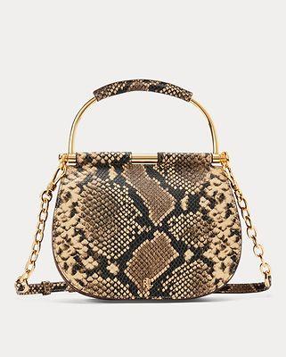 Lauren Ralph Lauren Mason snake satchel