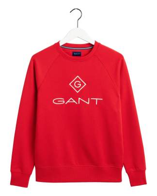 Gant Lock-up sweater red