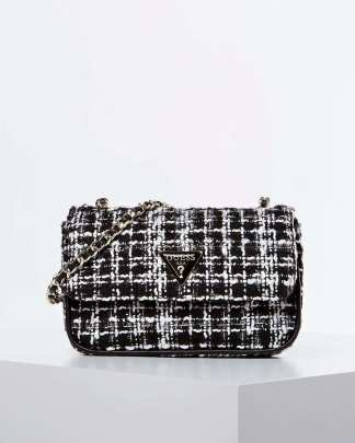 Guess Cessily Boucle sling bag