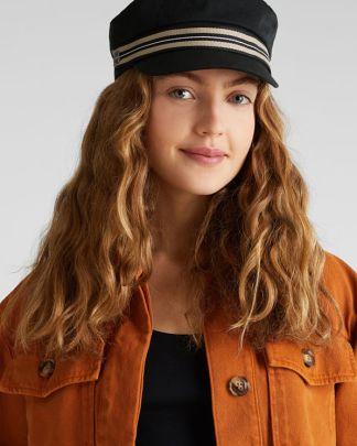 Esprit Military Cap Black