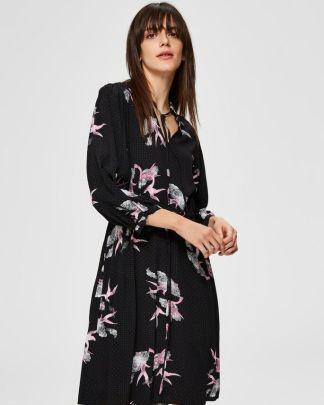 Selected Femme Allison-Damina Dress Black
