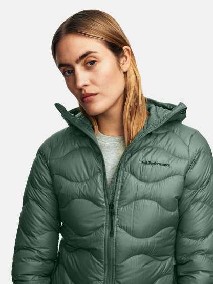 Peak Performance Helium Hood Jacket Green