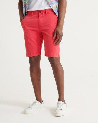 Superdry International Chino Shorts Pink