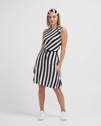 Holebrook Melanie Dress Navy/White