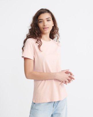 Superdry Orange Label Elite Crew Neck T-shirt Dusty Pink