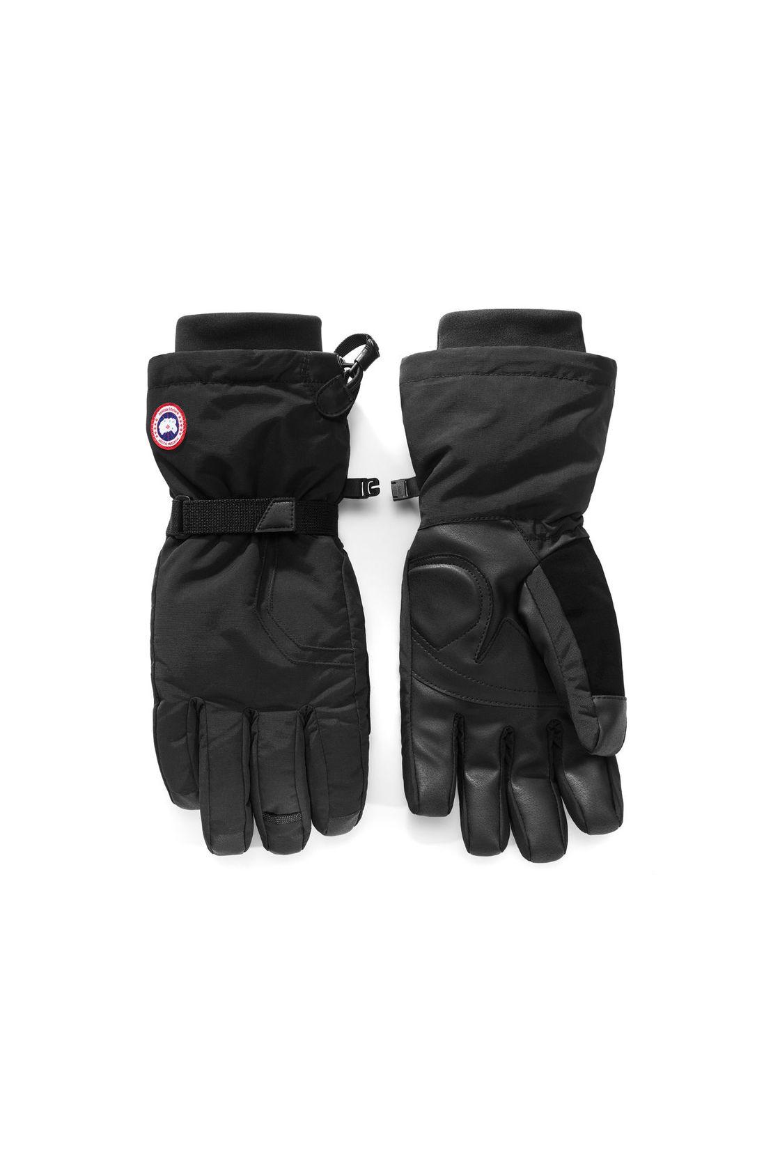 Men S Canada Goose Down Gloves Black Online Global