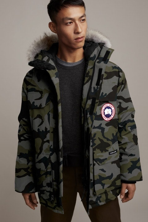 Canada Goose Expedition Parka camo