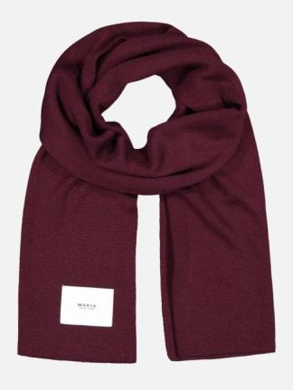 Makia Logical scarf wine