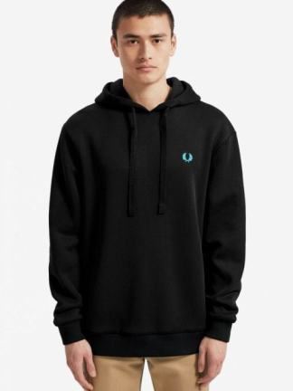 Fred Perry colour hooded sweatshirt