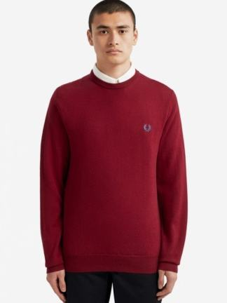 Fred Perry Merino wool knit