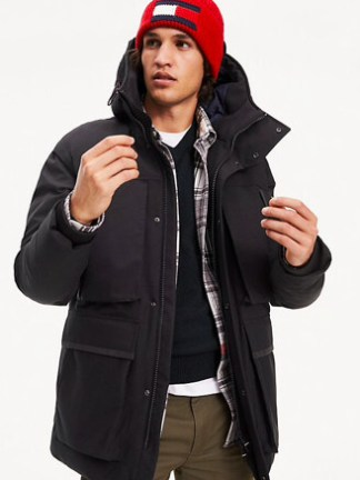 Tommy Hilfiger Heavy canvas parka