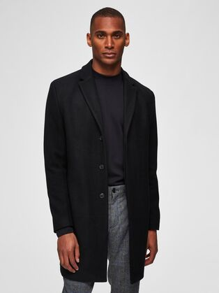 Selected Covent wool coat
