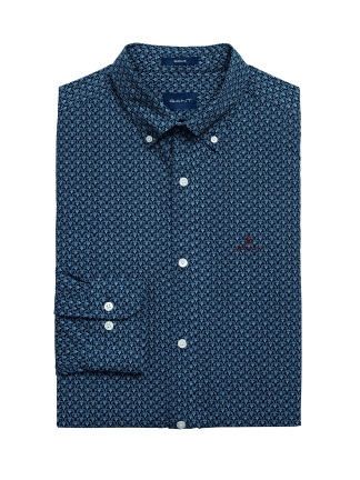 Gant Micro print shirt regular fit