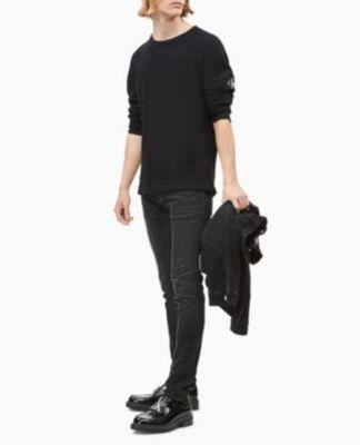 Calvin Klein textured T-shirt