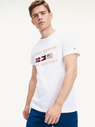 Tommy Hilfiger Global flags t-shirt