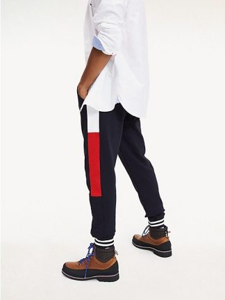 Tommy Hilfiger color-blocked joggers