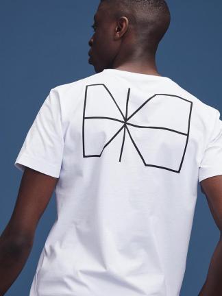 Makia Trim back print T-shirt