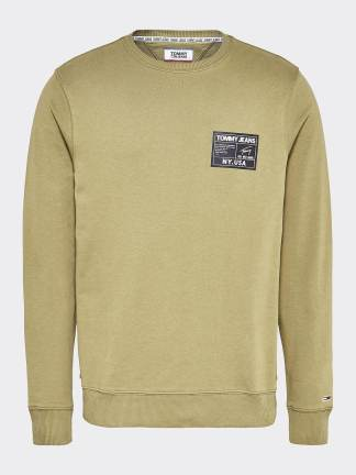 tommy jeans blsck label crew