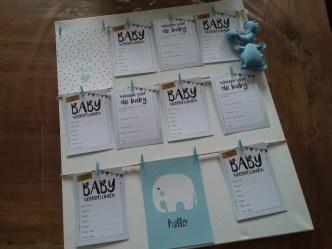 hoe organiseer je een babbyshower