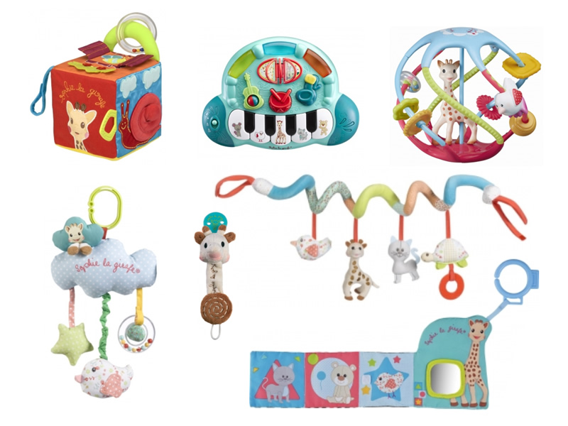 sophie de giraf speelgoed