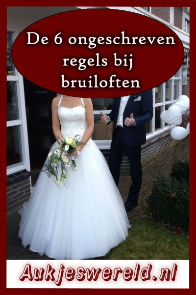 bruiloft regels