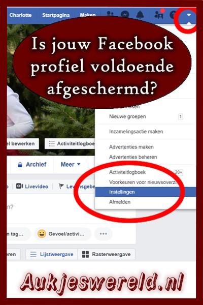 Facebook afschermen