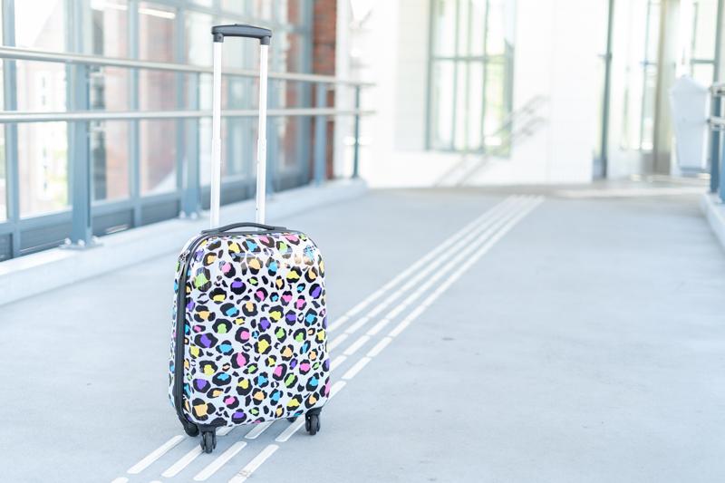 koffer panterprint
