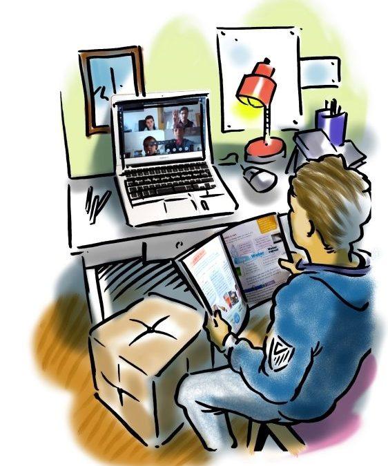 Videoclases y formación a distancia con Teams de Microsoft.