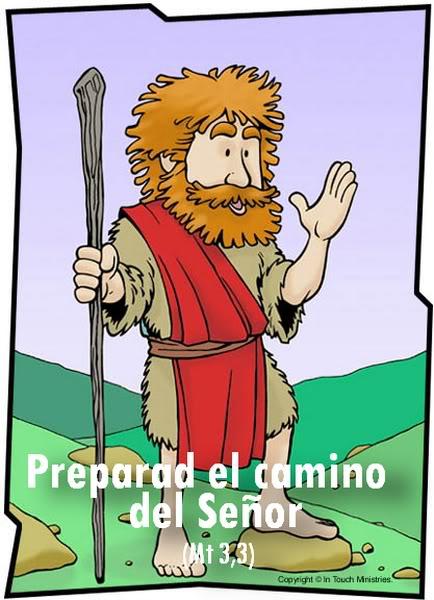 Dibujo de Juan Bautista