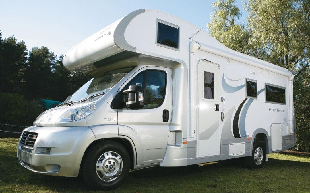 Batería auxiliar de una auto caravana