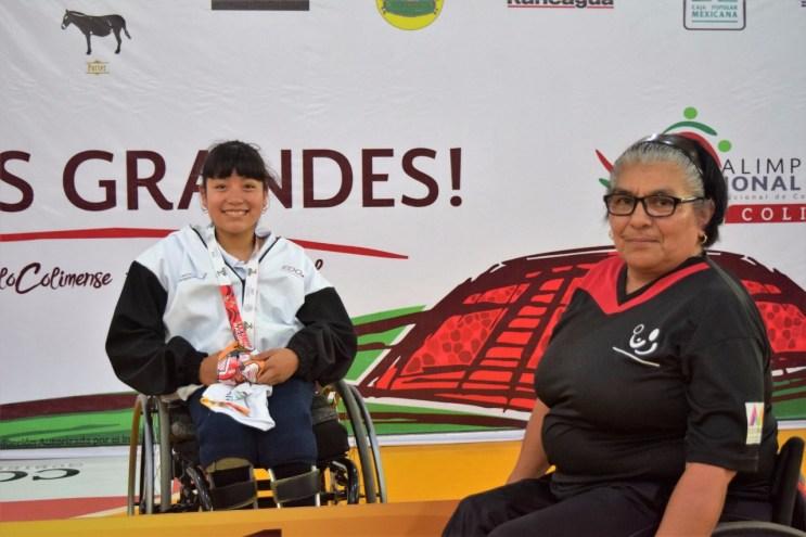 """Cosechan tenismesistas mexiquenses tres medallas en la Paralimpiada Nacional """"Colima 2018"""" 4"""
