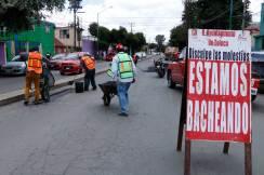 Intensifica Toluca bacheo en diversos puntos de la ciudad