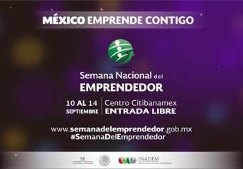 Invita Toluca a la Semana Nacional del Emprendedor